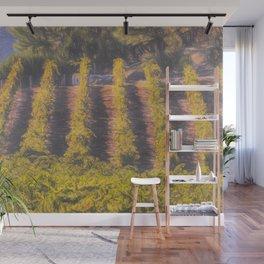 Art Of The Vineyard Wall Mural