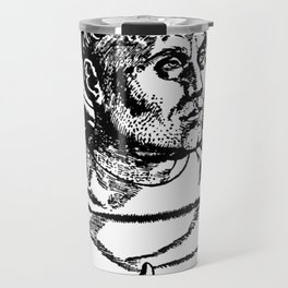 Portrait of Martin Luther Travel Mug