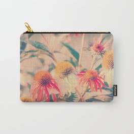Summer Cone Flowers Echinacea Scenic Botanical Carry-All Pouch