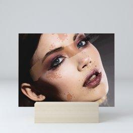 Painted Girl Mini Art Print