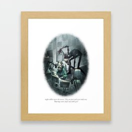 Behind You 70 Framed Art Print