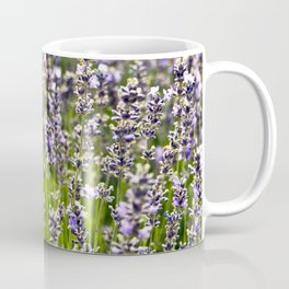 French Blue Lavender Coffee Mug