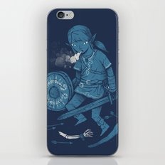 breath of the link iPhone & iPod Skin