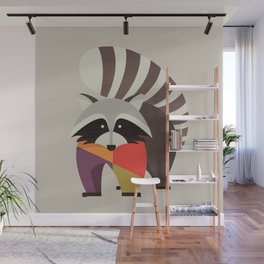 Raccoon Wall Mural