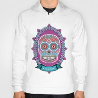mexican Hoodies featuring Mexican Skull by Xonomitl