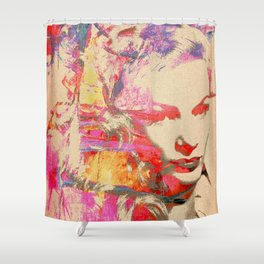 Divas - Veronica Lake Shower Curtain
