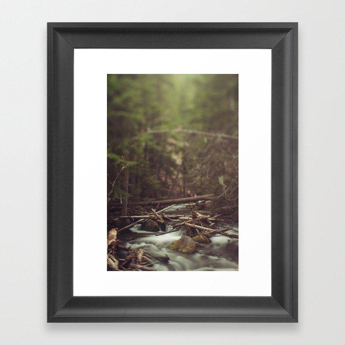Cold Spring Creek Framed Art Print