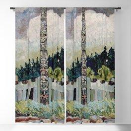 Emily Carr - Tanoo Blackout Curtain