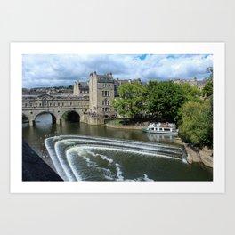 Pulteney Bridge Art Print