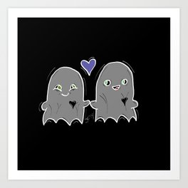 Forever My Boo Art Print