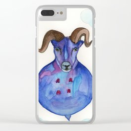 Big Horn Sheep In The Sky Clear iPhone Case