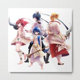 Magi Characters 6 Metal Print