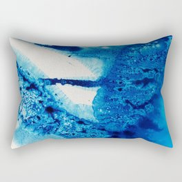 Into Indigo Rectangular Pillow