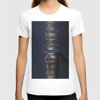 san diego T-shirts featuring San Diego Skyline @ Night by Liminal State