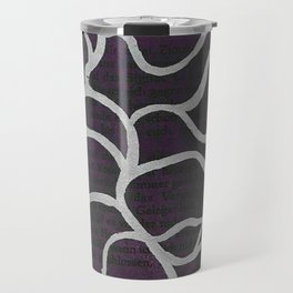 Dark Story Lines Travel Mug
