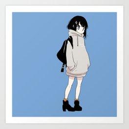 hoodie Art Print