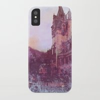 castle iPhone & iPod Cases featuring Castle by Nechifor Ionut