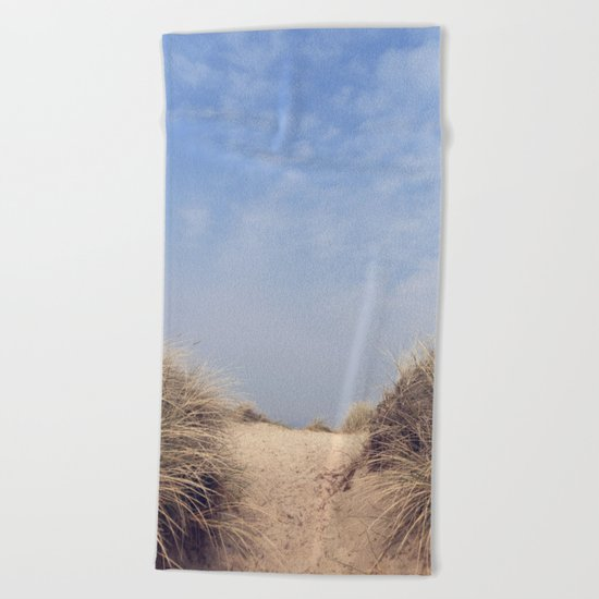The Way To The Beach II Beach Towel