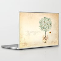 tree of life Laptop & iPad Skins featuring Life Tree by Paula Belle Flores