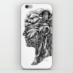 Portrait of Winter iPhone & iPod Skin