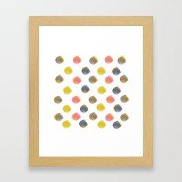 dot space dot Framed Art Print