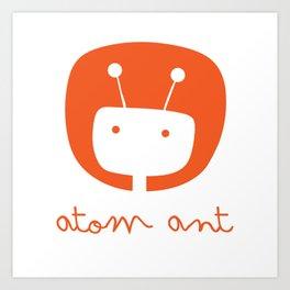 Atom Ant Art Print