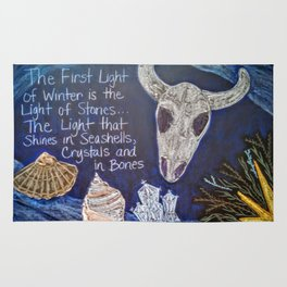 The First Light of Winter Rug