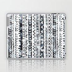 Tribal Stripe - B & W Laptop & iPad Skin