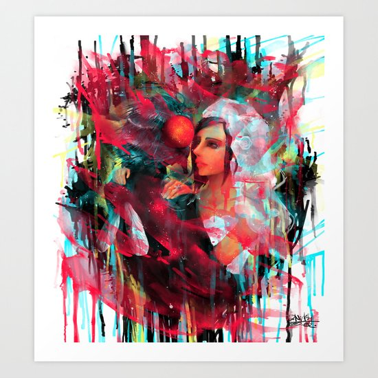Love would be forever... Art Print