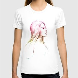 Girl With Nose Pin - 2 T-shirt