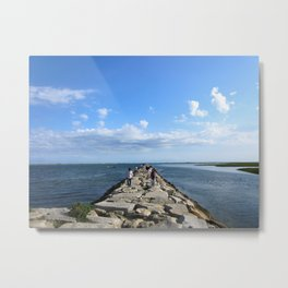 Tip of the Cape Metal Print