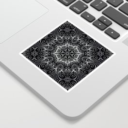 Drawing Floral Doodle G10 Sticker