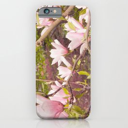Pink Melodies iPhone Case