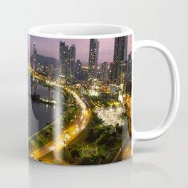 Panama City at Dusk Coffee Mug