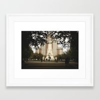 madrid Framed Art Prints featuring Madrid by cristinacarrion