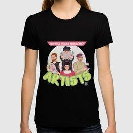 Mid-Aged Human Renaissance Artists T-shirt
