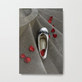 wedding shoes Metal Print