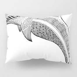 Decorated  Dolphin Pillow Sham