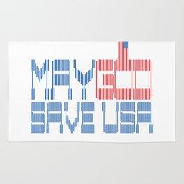 May God save USA Rug