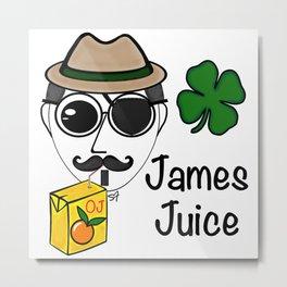 James Juice Metal Print