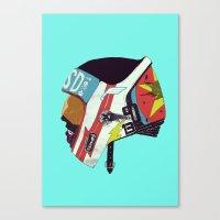 boneface Canvas Prints featuring Runaway II by boneface