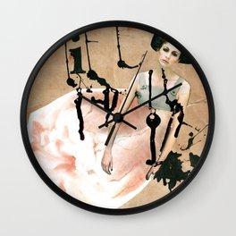 My broken heart Wall Clock