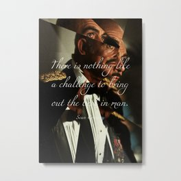 Sean Connery Metal Print