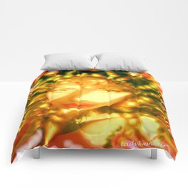 fire of the belly dancer ladykashmir Comforters