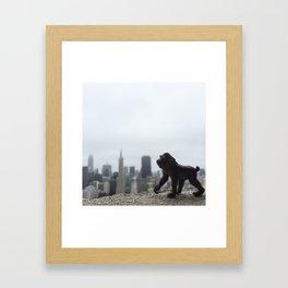 The Mandrill + San Francisco Framed Art Print