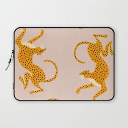Leopard Race - pink Laptop Sleeve