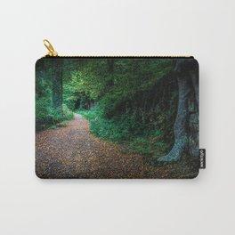 Golden Autumn lane Carry-All Pouch