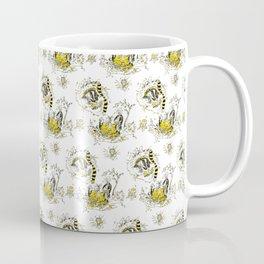 Hufflepuff Toile Coffee Mug