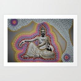 Funky Buddha Lounge Art Print