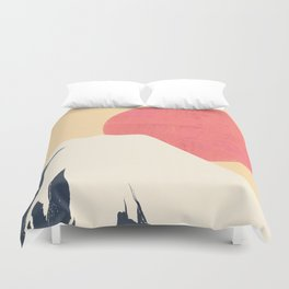 Dreams of Fuji Duvet Cover